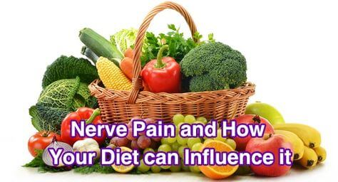 Fresh fruits and vegetables are a good diet for nerve pain caused by neuropathy
