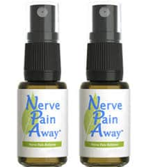 Topical spray to help relieve nerve pain