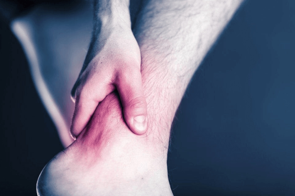 Nerve pain in the right foot
