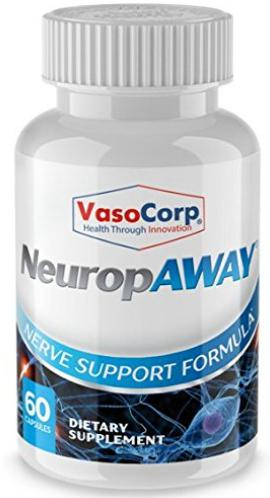 NeuropAWAY 60 capsule bottle
