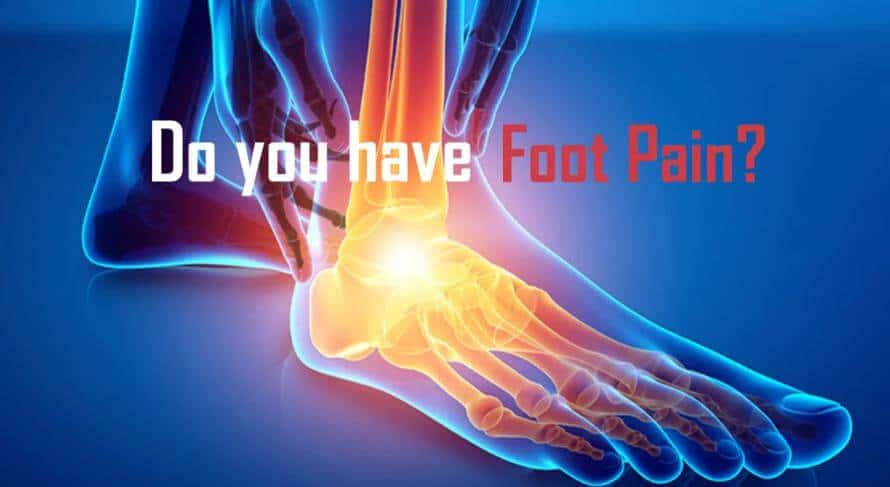 Foot pain from neuropathy