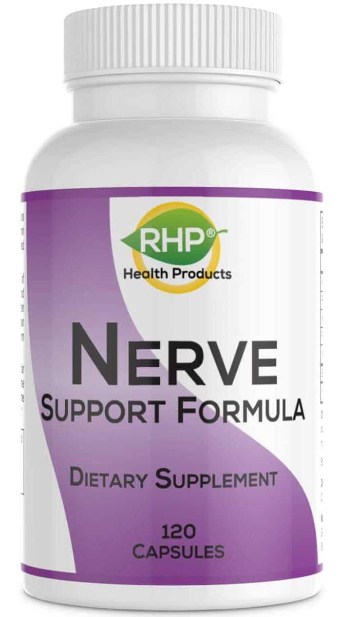 Nerve Support Formula 120 capsule bottle