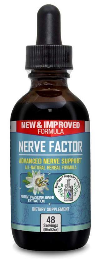 Nerve Factor Advanced Nerve Support single bottle
